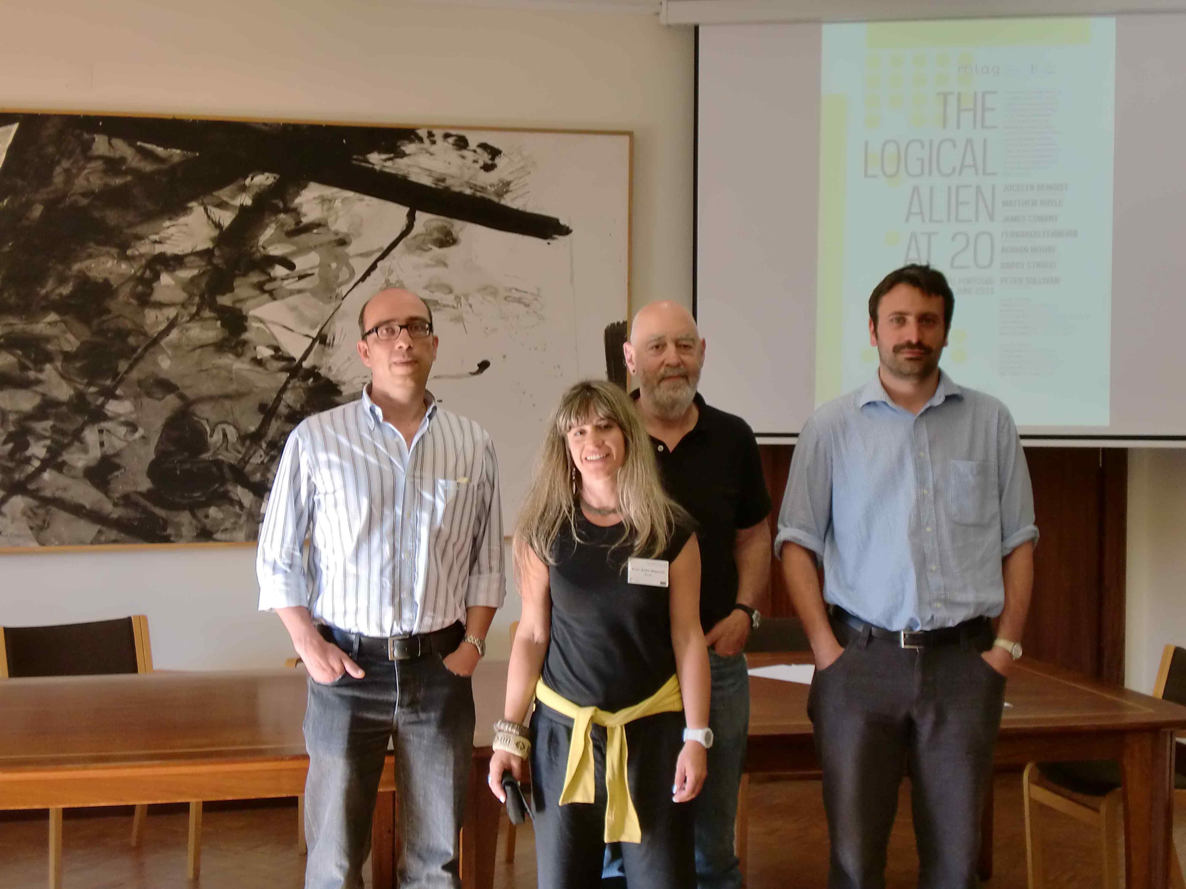 João Alberto Pinto, Sofia Miguens, Charles Travis, Mattia Riccardi